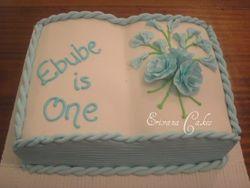 Book Cake 1 (B068)