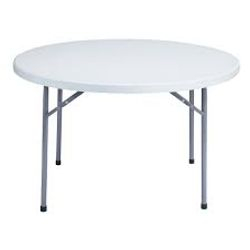 "48"" Plastic Table @ $12.00 ea"