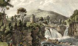 Bonnington Linn Mill (Site of c1800)