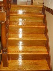 Refinshed stairway
