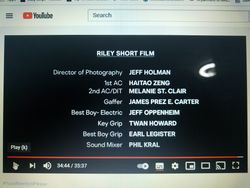 RILEY (HULU Short Film 2/2021)