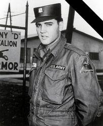 """Elvis Presley """"Army Tanker"""":"""