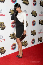 Demetria McKinney attends the 2012 Soul Train Awards at PH Live at Planet Hollywood Resort and Casino