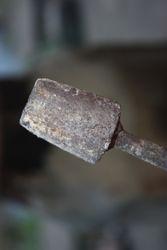 Heated Iron rod