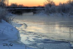 Winter Dawn on the River 1