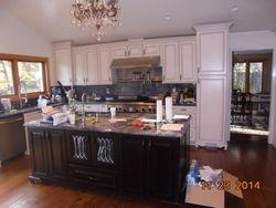 Kitchen Island Installed