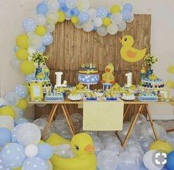 Baby Reveal Ballon Duck Theme