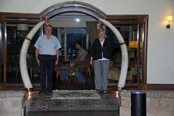 Separated by Equator at Mt. Kenya Safari Club