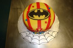 15 serving superhero fondant cake $90