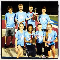 Boys and Girls 4x400 Myrhum Champs