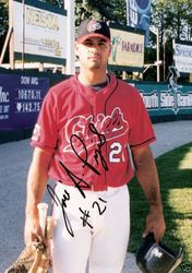 "2001 ""Jose"" A. #21 Pujols Autographed 8x10 Photo Authenticated By JSA"