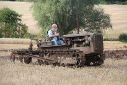 Cat D2 & cultivator