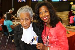 Bowl-A-Thon 2014, 100 year old Grannie B in attendance