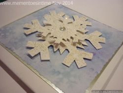 Snowflake Card Template