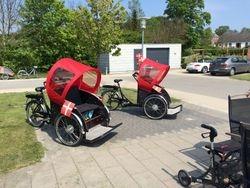 2 nye rickshaw-cykler