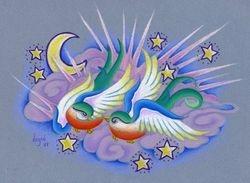 Star Crossed Love Birds
