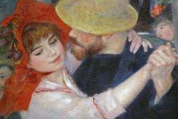 Renoir, The Rustic Dance, detail, Boston