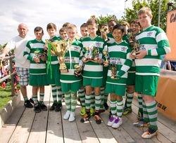 Dynamos League Winnners & Cup Runners Up