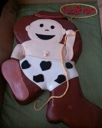 Cowboy Baby Cake