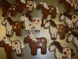 painted pony cookies $5 each