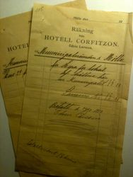 Hotell Corfitzon 1913