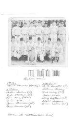 1936 96 Indians Mill Baseball team