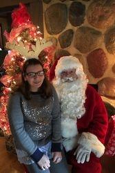 MacKenzie Walsh Visits Santa