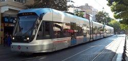 Flexity Swift Trams on Divanyolu Caddesi