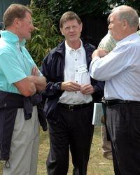 'Super destroyer' Pete Roberts, Bob Anthony, Steve Veidor