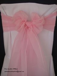 Pink wide voile.