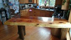 3 inch thick cedar countertop