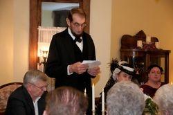 Mr. Lincoln speaks