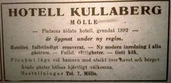 Hotell Kullaberg 1946