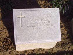 Pte. 2183 EPHRAIM MARGRAVE. 9th Battalion.