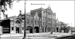 The old Opera house and Picture Palace.