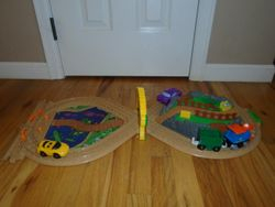 Fisher Price GeoTrax On the Go Train - $20