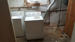 New Basement's Laundry room