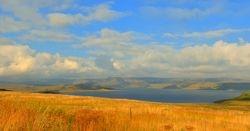 Sterkfontein dam Drakensbuerg