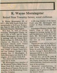 Morningstar, R. Wayne 1995