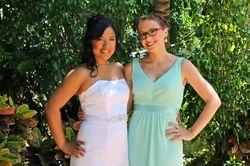 Serina and Bridesmaid