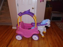 Little Tikes Princess Horse & Carriage Cozy Coupe - $70