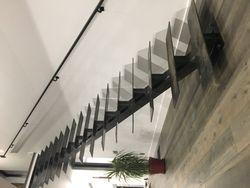 20' single stringer staircase