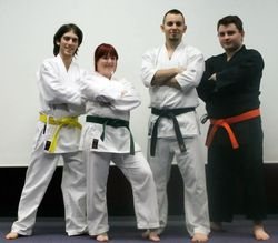 Group picture after grading 2012