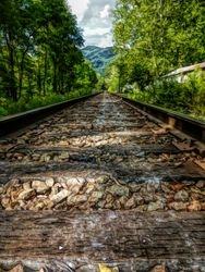 Railway Track Penland NC