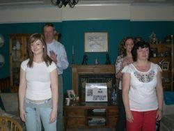 John, Amy, Elyse and Elizabeth