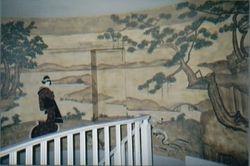 Asian Tapestry Mural 8' x 14'