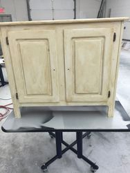BEFORE PINE CABINET