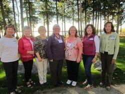Pat Devanney, Barbara Palmer, Mary Lamprey Bare, Wendy Sutton, Kathy Garry, Tracy Ripkey and Betsy McGuigan