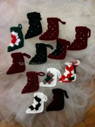 Dozen Christmas Ornaments - Set 4