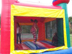 Bouncing Away in the Bouncy House!